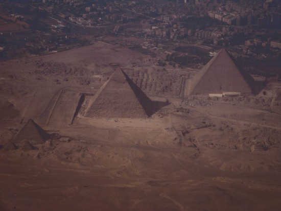 Giza from above
