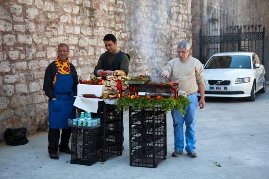 Another street vendor