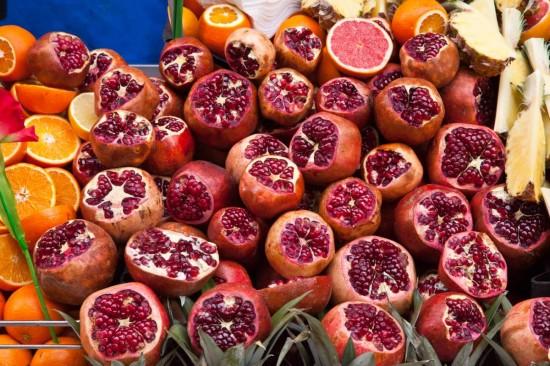 Fruit juice vendor