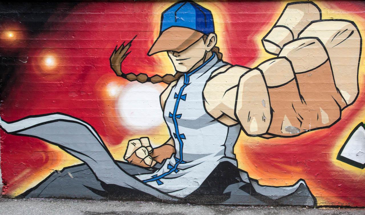 Grafitti art oslo - Street Art Street Fighter