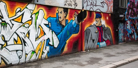 Street art - Street fighter continued