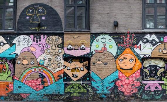 Street art - panorama