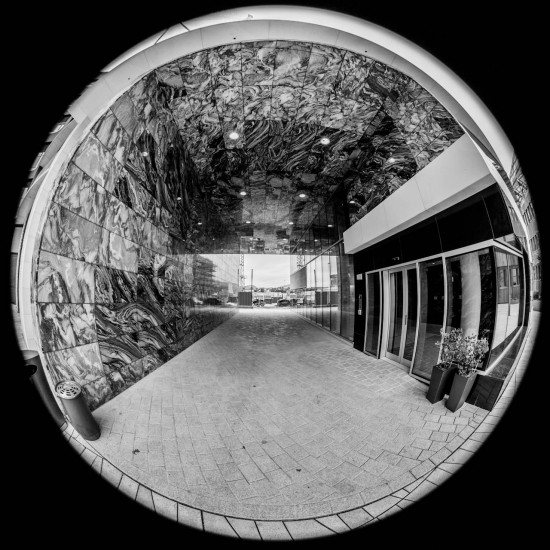 Fisheye in the tunnel