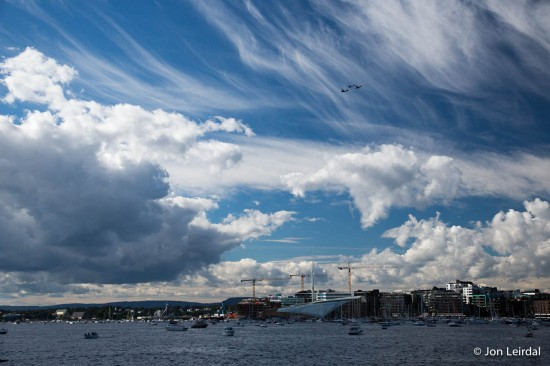 Great skies over Oslo
